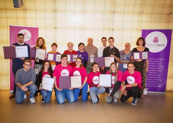 Reconocimiento al voluntariado: Premios Fundación Esplai 2017