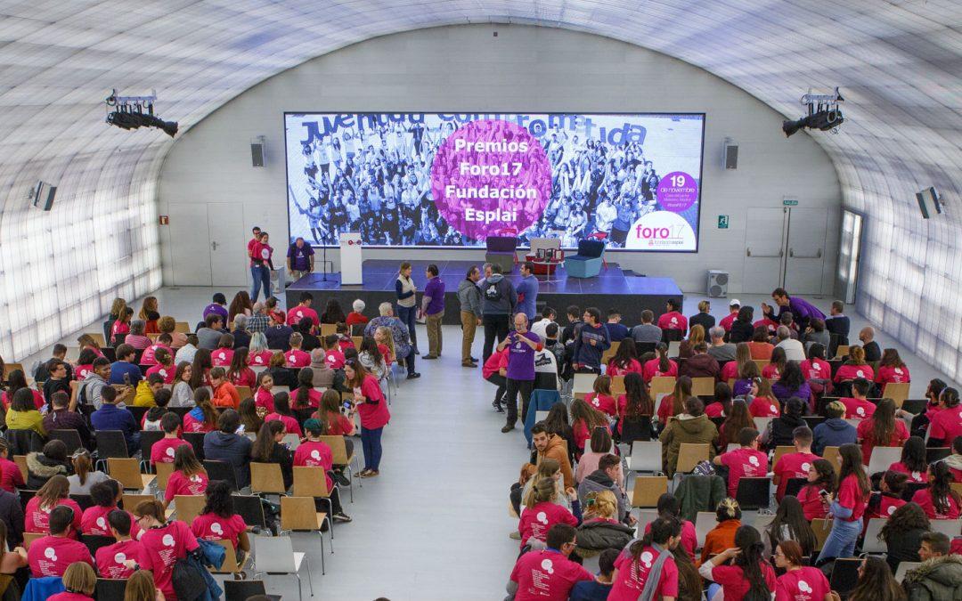 Convocatoria para  IX edición de los Premios Fundación Esplai a la Ciudadanía Comprometida