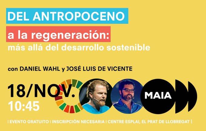 Invitación a la conferencia inaugural de MAIA por los ODS