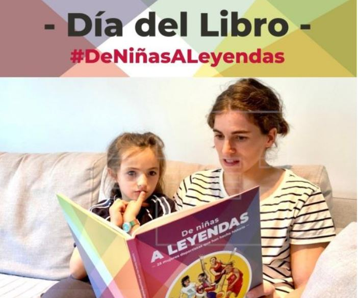 Día del Libro: maratón de lectura con deportistas