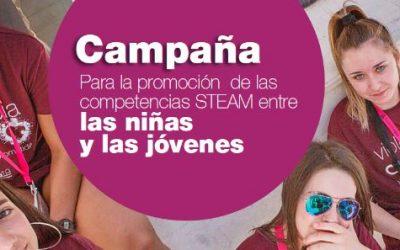 Webinar-tertulia «Chicas y vocaciones STEAM»