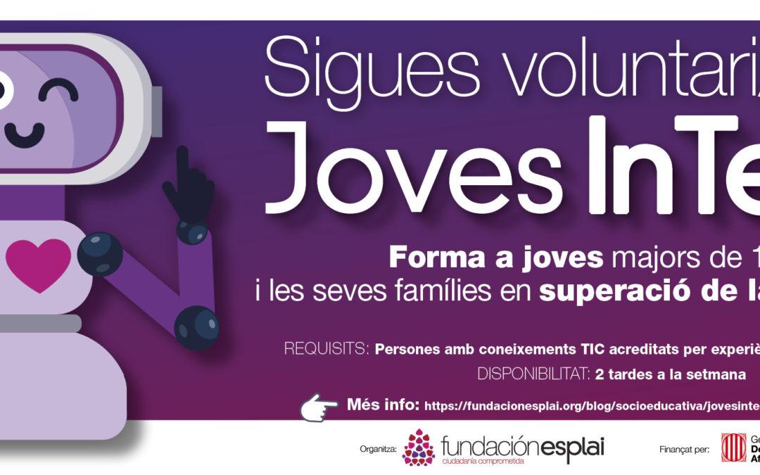 #JovesInTech: formación tecnológica para jóvenes y sus familias. Se buscan voluntarios/as